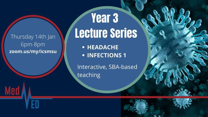 Year 3 Lecture Series: Headache and Infections 1