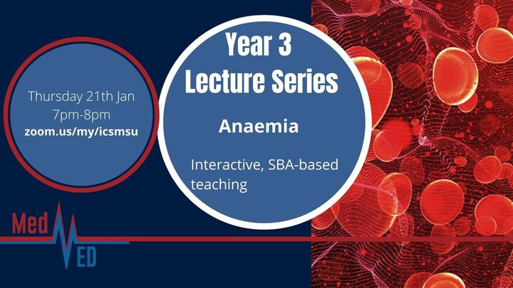 Year 3 Lecture Series: Anaemia