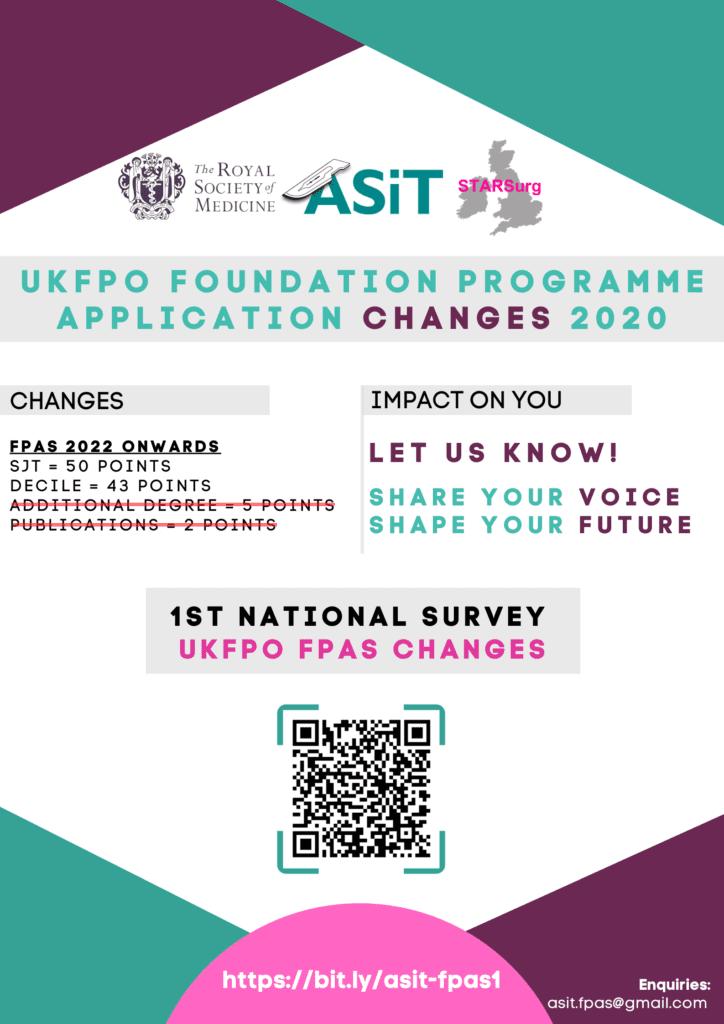 UKFPO FPAS Changes Survey