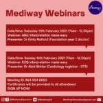 Mediway Webinars