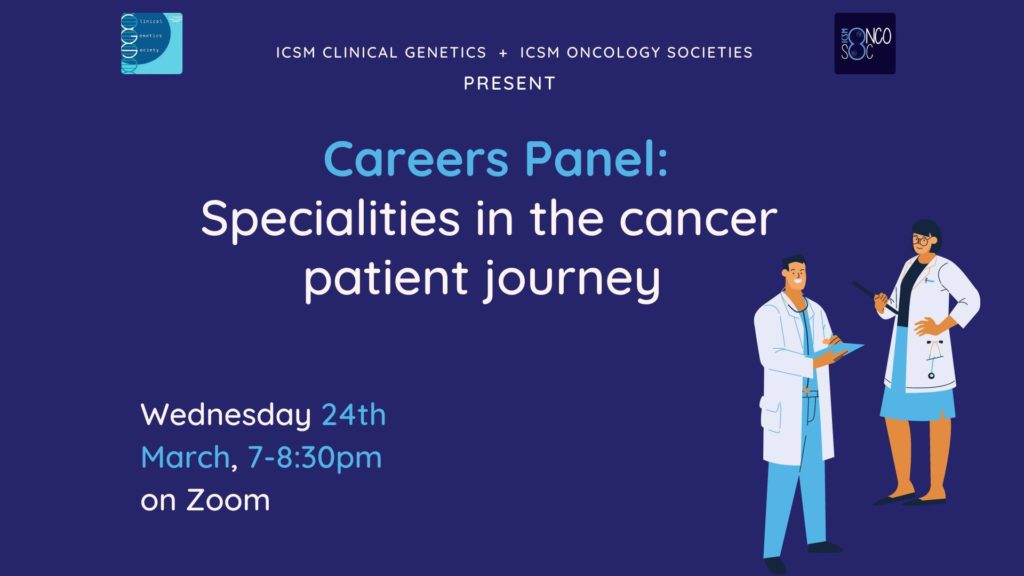 Careers Panel: Specialities in the cancer patient journey