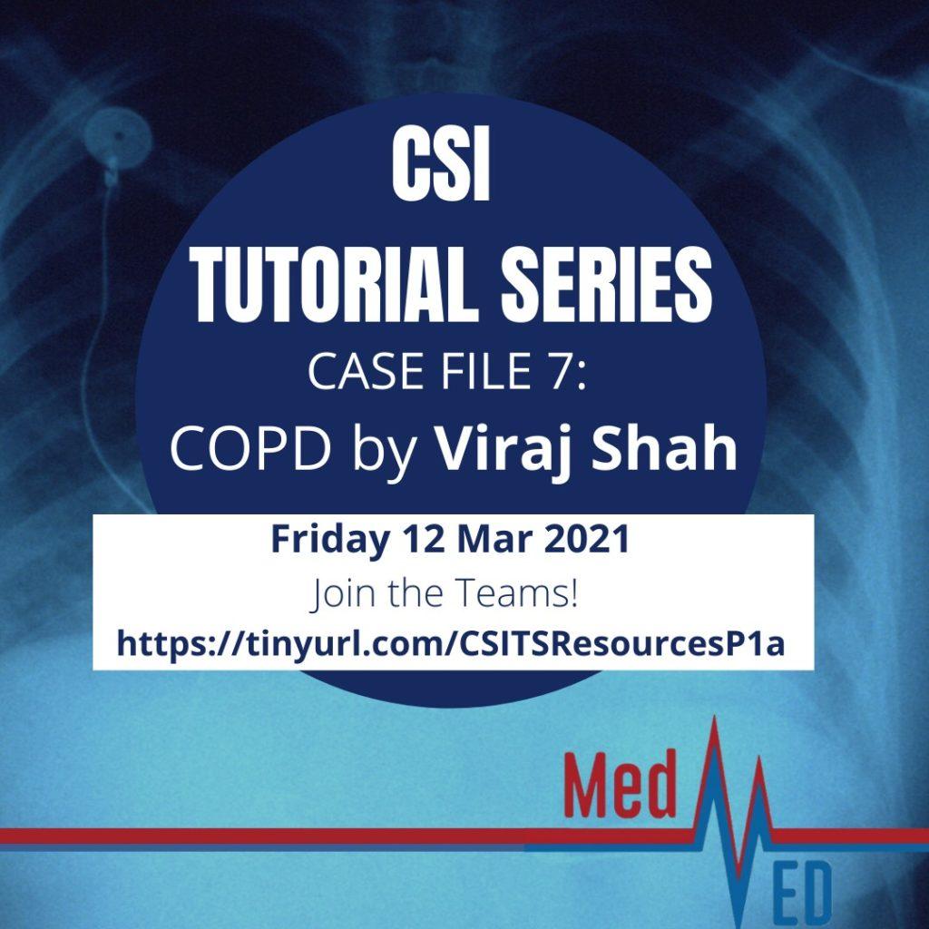 CSI Tutorial Series: COPD by Viraj Shah