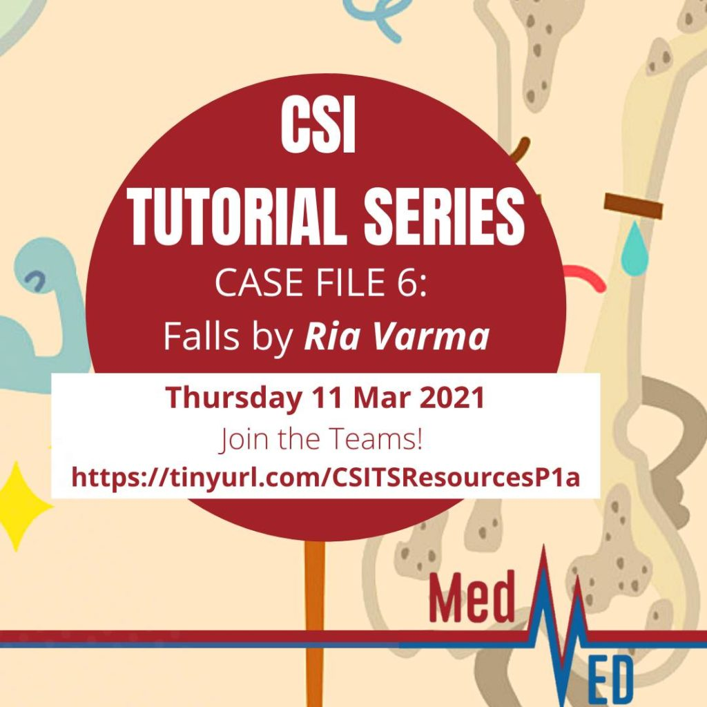 MedED CSI Tutorial: Falls by Ria Varma