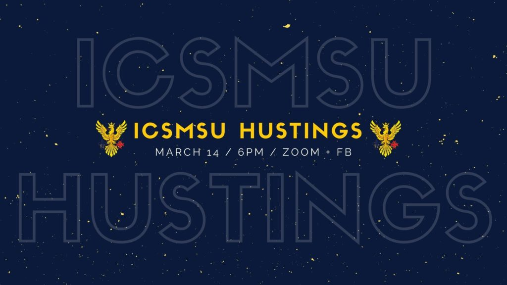 ICSMSU Hustings 2021