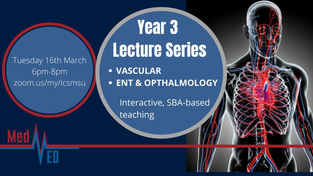 Year 3 Lecture Series: Vascular Disease