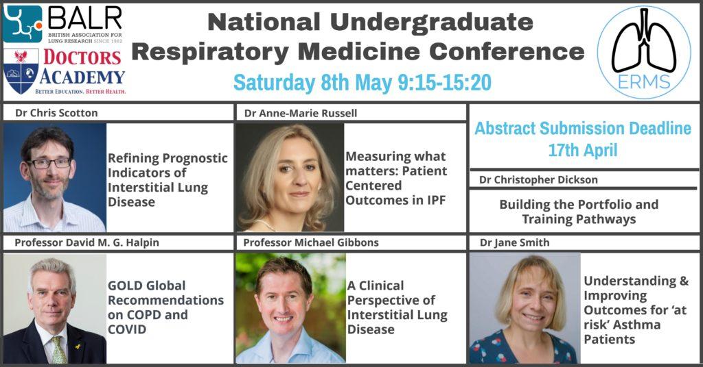 National Undergraduate Respiratory Medicine Conference 2021