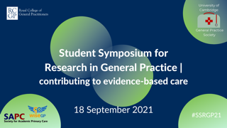 SSRGP Research Conference – Accepting Abstracts