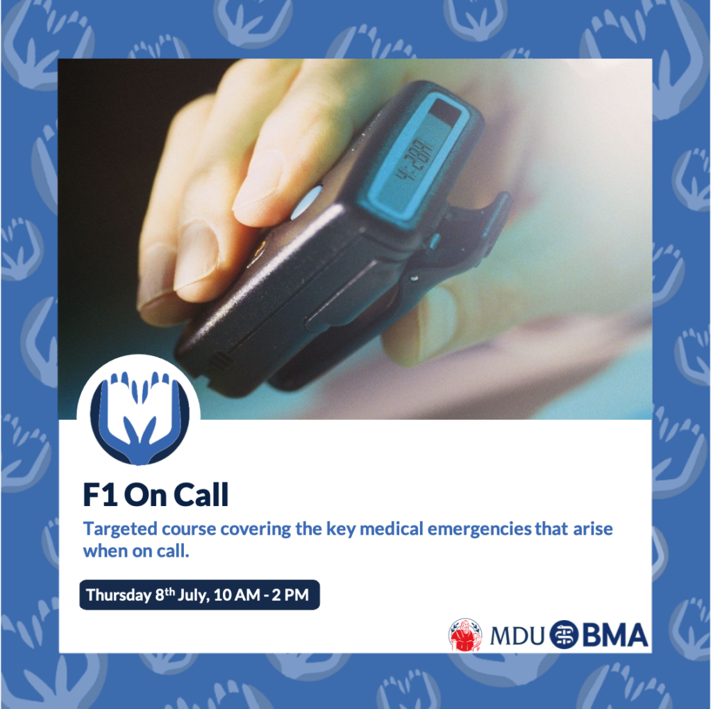 Make a Medic – F1 On Call Course