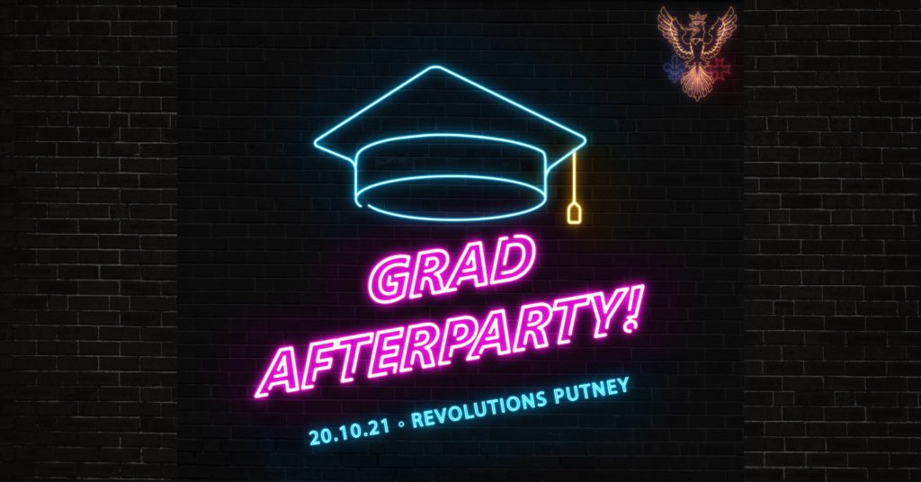 GRADUATION AFTERPARTY!